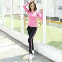 Wholesale New Jogging Suits For Women Tracksuits Women Sportwear Suits Fashion Elastic Running Sets WN HBK056
