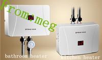bathroom water heaters - 381 Electric Shower Induction Heater Electric Water Heater KW Gear Instant Tankless Bathroom Water Heater For Shower In Whole Year