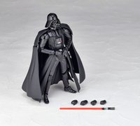 Wholesale 2015 newest Star Wars Revoltech Darth Vader Stormtrooper PVC Action Figures Collectible Model Toys X004