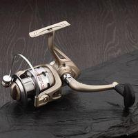 Cheap Fishing fishing rod fishing rod GS 6 bearing metal head spinning reel fish fishing reel wheel rocky raft