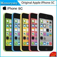 Wholesale Original Refurbished Unlocked Apple iPhone C Cell phones GB GB dual core WCDMA WiFi GPS MP Camera quot Smartphone US Version