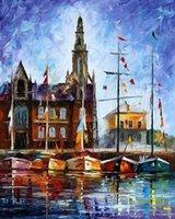 belgium art - oil Painting Leonid Afremov art for sale antwerp belgium Canvas Hand painted High quality