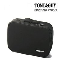 Wholesale The new TONI GUY scissors package portable hairdressing tool kit