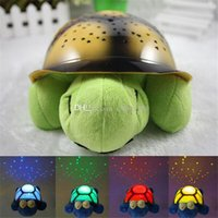 Wholesale Turtle Night Light Stars Constellation Lamp With Retail Box lamp