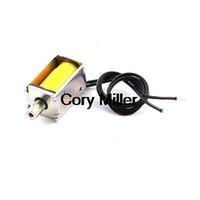 Wholesale 3V mm Stroke g Force Open Frame Pull DC Solenoid Electromagnet order lt no track