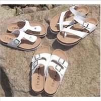 Wholesale Woman Men Sports Birkenstock Sandalias Women Beach Sandals Flats Flip Flops Slippers Women Men sandalias Plus Size c1051
