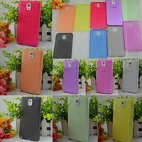 For Samsung PP GNC3015-20 High Quality 0.3mm Slim Frosted Clear Soft PP Cover Case for Samsung Galaxy Note 3 N9000 Note2 S3 S4 S4mini S5 iPhone 4 4S 5 5S 5C MOQ:10pcs
