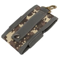 Wholesale Universal Army Combat Camo Tactical Bag Holster Belt Pouch For Large Phone s