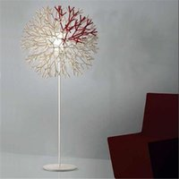 Wholesale White Acrylic Snowflake Floor Lamps Fashion E27 v V Floor Light with Knob Switch Cheap Room Lights Hot Sale FL