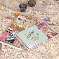 baby scrapbook kits - 2015 New Cute Albums for Baby Scrapbooking Diy Photo Album Scrapbook Kit home decoration scrapbook album de fotos k517