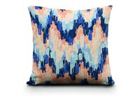 abstract illustrations - Watercolor Illustration Pillow Cover Abstract Art Cushion Cover Comfortable Linen Cushions Home Decor