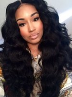 bank wave - Glueless Brazilian Full Front Lace Wig Cheap Unprocessed Body Wave Human Hair Wigs For Black Women