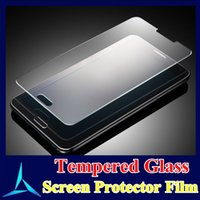 Wholesale Tempered Glass Screen Protector Without Package With mm H D Round Edge For Iphone I6 Plus Samsung Note4 S6 S6 edge In