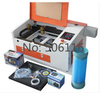 Wholesale 50W CO2 Laser Engraver Engraving Cutting Machine Electric Up Down Table USB Port