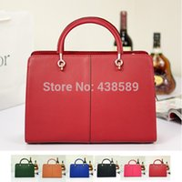Cheap Wholesale Hot Sale Women Designer Purse and Handbags Outlet 2014 HB005,100% Genuine Real Leather Handbags Women Briefcase