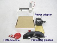 Wholesale Newest MW laser power router DIY laser engraver machine Mini laser engraving machine carving seals mobile phone shell best gift