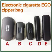 Wholesale Ego Cases Zipper Bag Leather Long Pouch Carry Box E Cigarettes Carrying Case for Evod CE4 CE5 MT3 Protank Vaporizer Pen Starter Kit