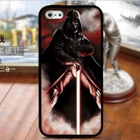 apple borders - iphone plus case Hybrid in Star wars Darth vader TPU PC cases DIY design black border knight back cover for iphone s s plus