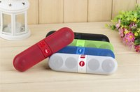 Wholesale Newest Multi function stero Bluetooth speaker wireless speaker handfree calling FM TF card for phone tablet dhl