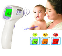 Wholesale New Digital termometer thermometer ear new baby adult digital multi function non contact infrared Gun forehead body thermometer