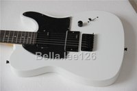 Wholesale custom OEM handscraft white color tele electric guitar accept upgrade material and hardware hot selling guitars