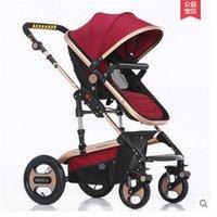 Wholesale Lightweight stroller baby prams pushchairs Baby stroller foldable umbrella holder folding point adjustable