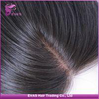 "Cheap EVAS Hair 1pc Silk Base Closure Brazilian Malaysian Indian Peruvian Cambodian Body Wave 100% Human Hair Closure 12""~ 20"" With Shipping Free"