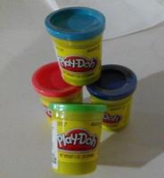 Wholesale 4pcs Play Doh D color clay dough plasticine Children Christmas gifts hasbro toys colors