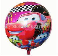 baby shower car - Baby Shower Cars Party Balloons Decoration Kids Children Round bolas de festa Baloon bolas de aniversario