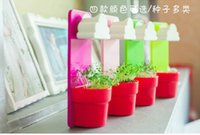 Wholesale New Arrival a Lovely Rainy Pot Wall hunging Cloud Flower pot