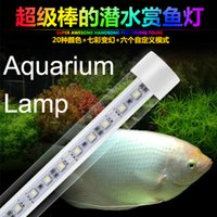 al color - Waterproof Aquarium Lamp LED T8 Tube Light DC12V W MM Long Al PC White Red Blue Colorful Color Come DC12V Transformer Freeshipping