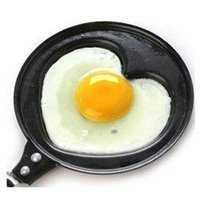 Wholesale Retail Love heart style shaped omelette pan omelette device omelettes mould