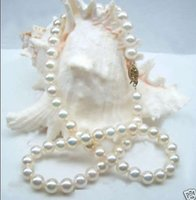 Wholesale Natural MM AAA White Akoya Cultured Pearl Necklace quot