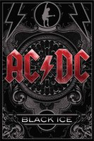 ac dc poster - AC DC Home Decoration Classic Fashion Movie Style Custom Poster Print Size x60 cm Wall Sticker
