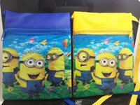 Wholesale NEW Despicable Me Shoulder Bags Girls Boys Messenger bag hand bag Children Xmas Christams Party Gift