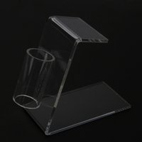 Wholesale Nice Simple Clear Acrylic Tattoo Gun Holder Tattoo Machine Stand Collector Easy and Convenient To Use