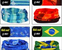 fall decorations - Bandana Handkerchief Unisex Outdoor NEW Bicycle Ride Mask Turban Magic Scarf Sport Multifunctional Decoration Embroidery Sunscreen Handband
