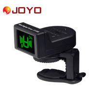acoustic parts - JOYO JT Mini Digital LCD Clip on Tuner for Acoustic Electric Guitar Bass Violin Ukulele Chromatic Durable Guitar Parts I1299