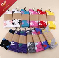 Wholesale Weed Socks Men s Skateboard Knee High Sport Socks Colors