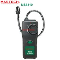 Wholesale MASTECH MS6310 Multifunction Gas Leak Detector Natural Gas Propane Gas Analyzer With Sound Light Alarm