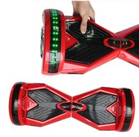 Wholesale 8 quot Electric scooter Hoverboard Self Balancing Wheels Electric Scooters with Bluetooth Remote control Smart Balance Board