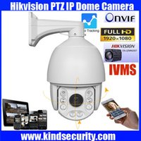 ptz camera auto tracking - 7 quot Waterproof waterproof Hikvision Module P auto tracking high Speed PTZ Dome IP Camera P auto tracking PTZ IP camera