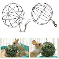 al por mayor suministros de rata-Mejor Esfera Alimentación Dispensador Juguete de bola colgando Conejillo de Indias Hamster Rat Rabbit Pet Supply