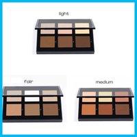 Wholesale ABH New Cream Contour Kit Light Medium Fair Makeup Face Powder Foundation Concealer colors