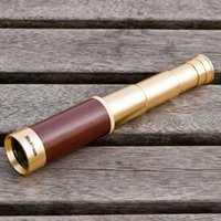 Opera Glasses pirate telescope - New Arrival X40 Scalable Pirates Monocular Telescope Pirate Metal Telescope Waterproof New Optical lenses