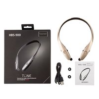 Wholesale 2016 hot HBS HBS bluetooth stereo sports wireless headset hbs900 headphone for iphone s samsung HTC smartphone