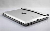 Wholesale Free DHL Fashion Design Universal Ultra Slim Aluminum shell Wireless Bluetooth Keyboard For IPad