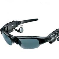 bluetooth headset sunglasses - Sunglasses Stereo Bluetooth Headset Sun Glasses Wireless Sports Headphone Handsfree Earphones Ear Phones Mp3 Music Player DHL
