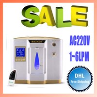 Wholesale AC220V LPM settings shift Portable Home oxygenating oxygen bar therapy Oxygen concentrator with Atomizing function by DHL