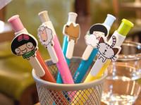 school supplies - 18 OFF Kawaii NEW ARRIVAL Dakku Yang cartoon ballpoint pen Children s school supplies Office Stationary Supplies Pens SQ